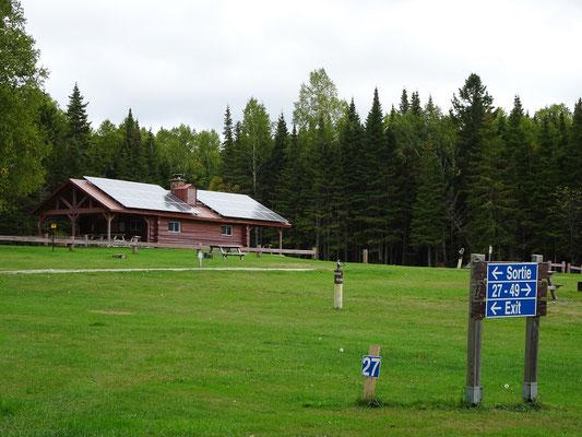Urlaub in New Brunswick: Der Mount Carleton Provincial Park bietet auch Zeltplätze, allerdings ist in der Nachsaison nicht mehr so viel los.