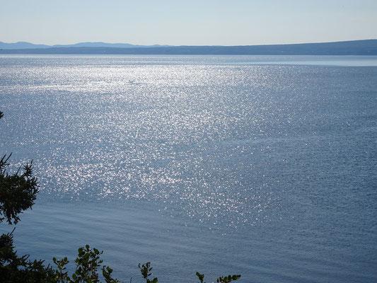 Besuch im Forillon Nationalpark: Blick auf den Sankt-Lorenz-Golf.