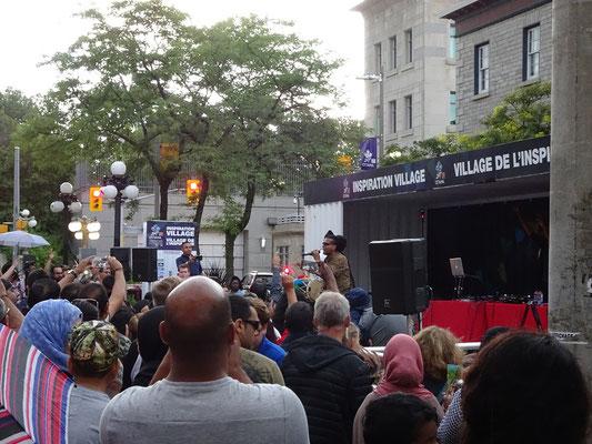 Urlaub in Ottawa: Indisch angehauchter Reggae beim Platzkonzert auf dem ByWard Market war ein neue Erfahrung, aber auch das macht Kanada aus.