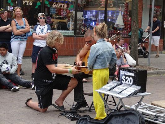 Musik zum Mitmachen beim Busker Fest in Toronto.