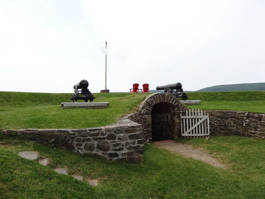 Fort Anne in Annapolis Royal.