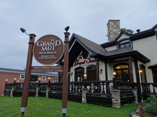 Dinner am Broadway: Bestes Haus am Platze ist in Grand Falls, New Brunswick dieses italienische Restaurant.