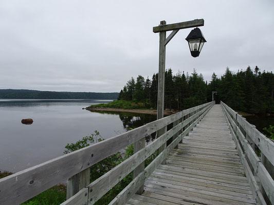 Urlaub in Neufundlands Terra Nova Nationalpark: Lehrpfad in der Nähe des Besucherzentrums.