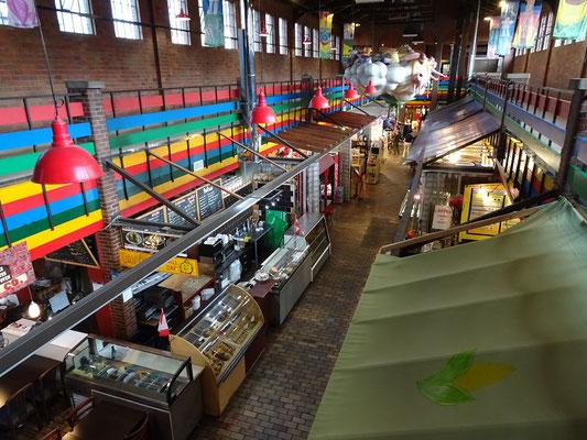 Urlaub in Ottawa: Blick in die kleine Markthalle auf dem ByWard Market.