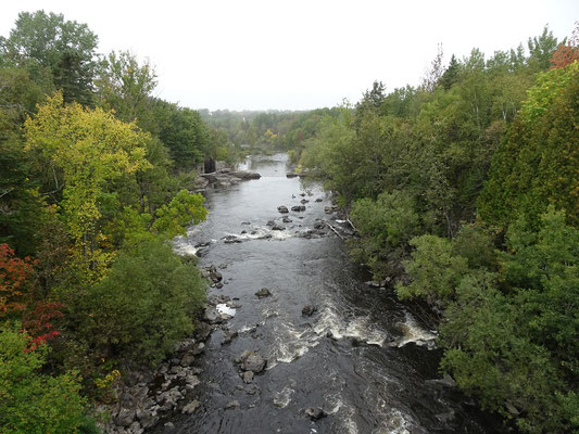 Urlaub in Quebec: Blick auf den Riviére-du-Loup.