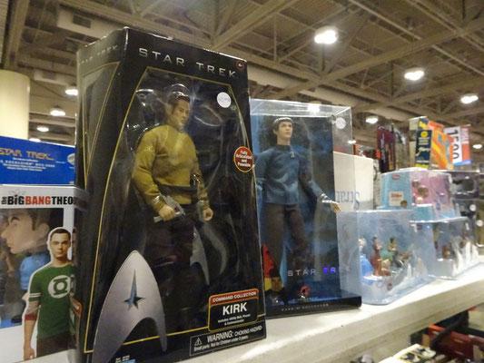 FanExpo 2016 in Toronto: Auch Star Trek Spielfiguren dürfen nicht fehlen.