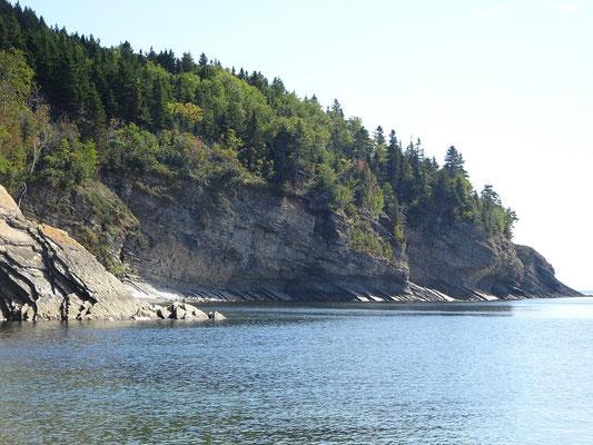 Urlaub in Quebec: Foto von der Anse aux Amérindiens im Forillon Nationalpark.