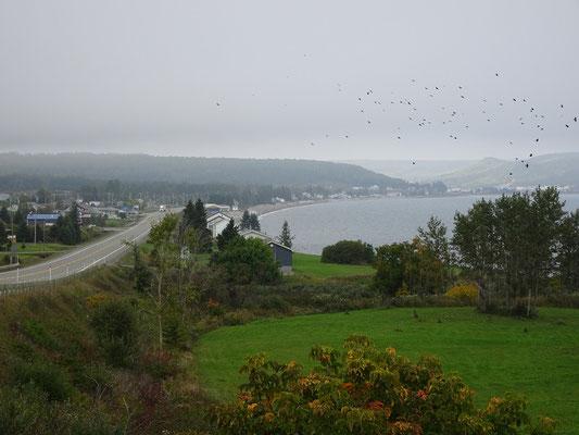 Urlaub in Quebec: Blick auf eine Bucht nahe Port Daniel Gascons.