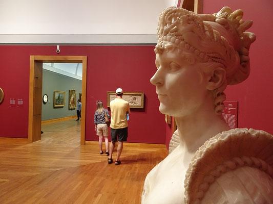 Urlaub in Ottawa: Plastik in der Nationalgalerie.