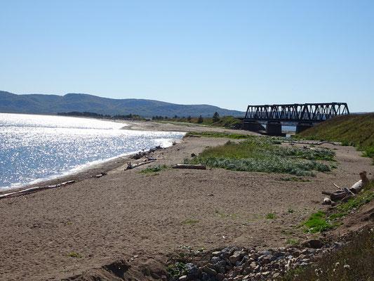 Urlaub in Quebec: Bucht an der Route 132 auf dem Weg nach Gaspé.
