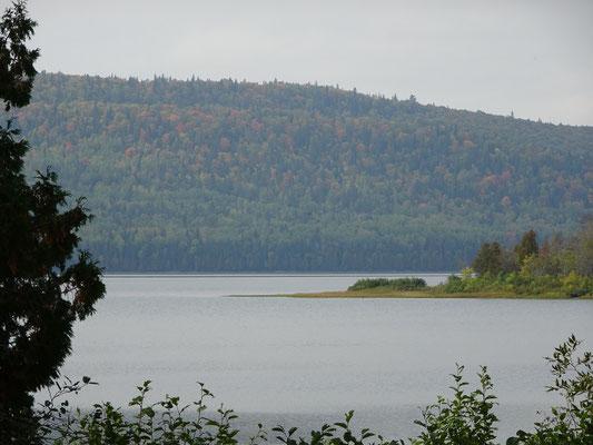 Urlaub in Quebec: Blick auf den Lac Touladi im Lac Temiscouata Nationalpark.