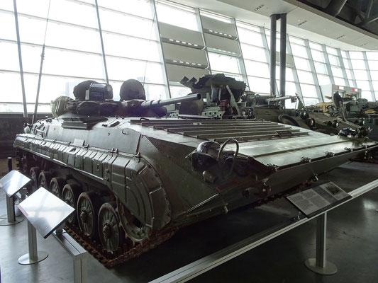 Kriegsmuseum in Ottawa: Ein russischer BMP Schützenpanzer.