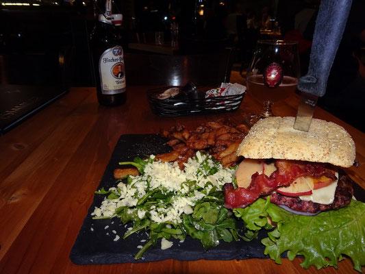 Urlaub in Quebec: Abendessen in Riviére-du-Loup.