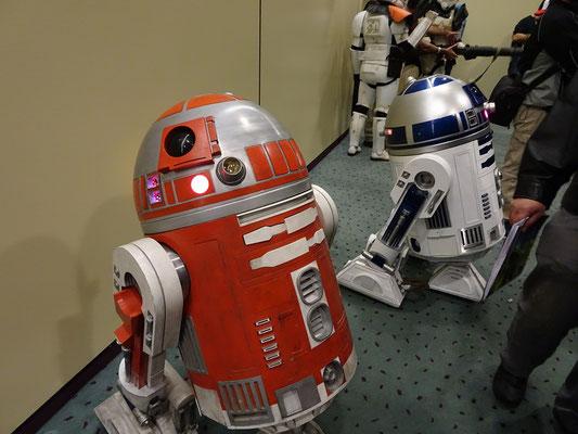 Toronto Comicon 2017: Droide aus Star Wars.
