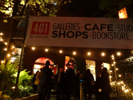 Nuit Blanche 2015 in Toronto: Erste Station war eine Kunstgalerie.