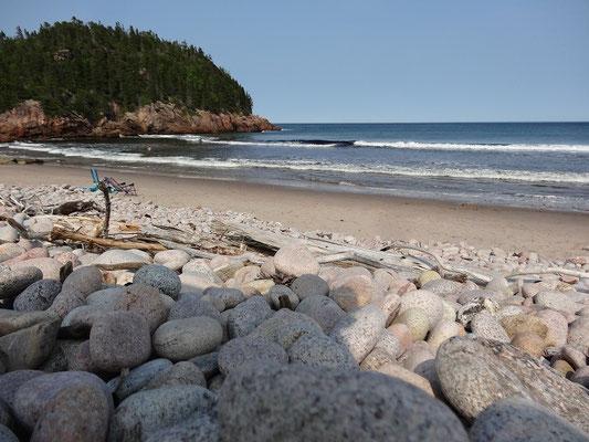 Und mal wieder ein Strandbild aus Cape Breton Island.
