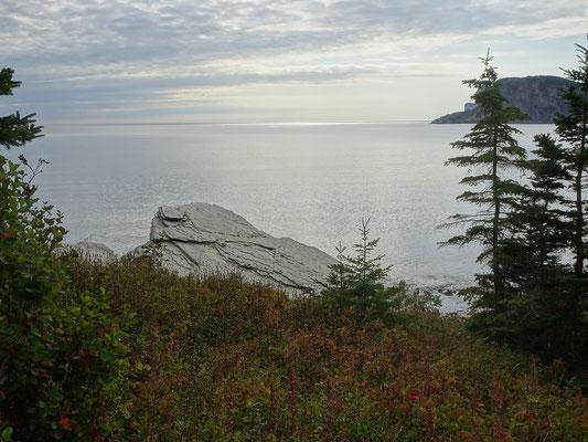 Urlaub in Quebec: Meerblick am Cap-Bon-Ami auf der Ostseite des Forillon Nationalparks.