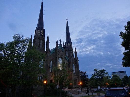 St. Dunstan Basilica in Charlottetown, Prince Edward Island.