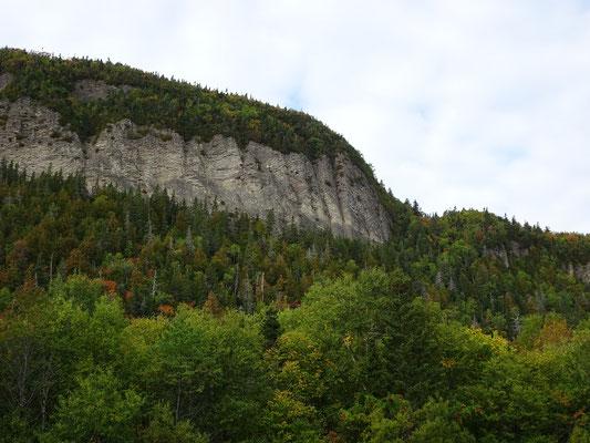 Urlaub in Quebec: Blick auf das Terrain am Cap-Bon-Ami auf der Ostseite des Forillon Nationalparks.