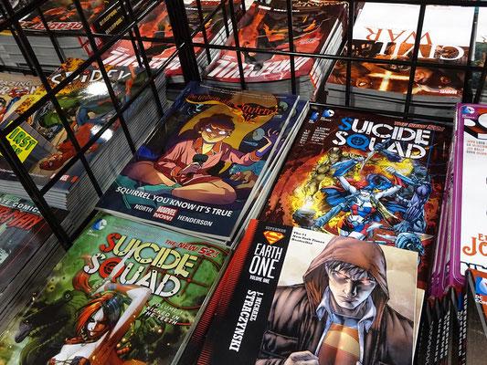FanExpo 2016 in Toronto: Comics inspirieren Filme, und umgekehrt.