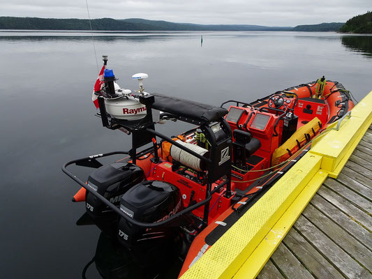 Urlaub in Neufundland: Bootsanlegestelle im Terra Nova Nationalpark.