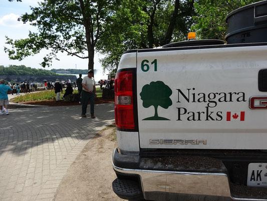 Pickup Truck der Parkverwaltung von Niagara Falls.