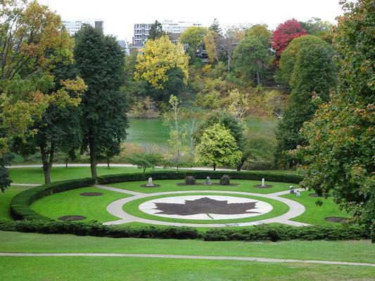 Herbst im Toronto: Die Gärtner im High Park bereiten schon den Frühling vor.