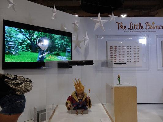 """Auch """"Der kleine Prinz"""" wurde auf der FanExpo 2015 in Toronto beworben."""