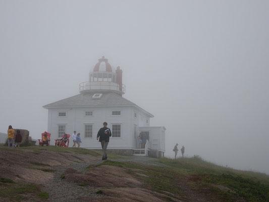Urlaub in Neufundland: Blick auf das Haus des Leuchtturmwärters von Cape Spear.
