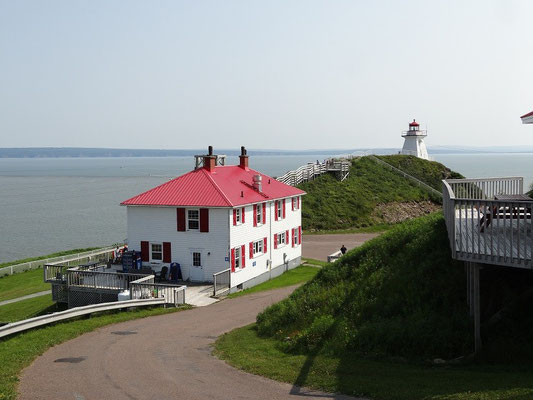 Cape Enrage in New Brunswick.