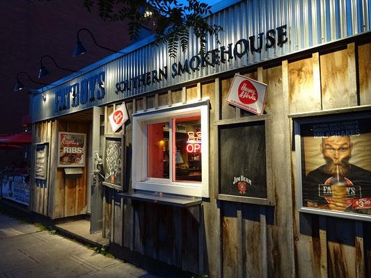Urlaub in Ottawa: Südstaaten-Restaurant in der Nähe der amerikanischen Botschaft.