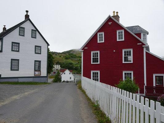 Urlaub in Neufundland: Das abgelegene Trinity erinnert mit untypischen Häusern und engen Gassen an eine englische Siedlung aus den 1850er Jahren.