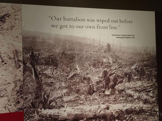 """""""Unser Bataillon war ausgelöscht, noch bevor wir überhaupt die Frontlinie erreicht hatten."""""""