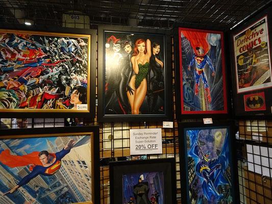 FanExpo 2016 in Toronto: Auch Gemälde stehen zum Verkauf.