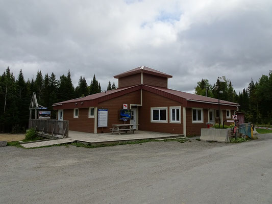 Urlaub in New Brunswick: Besucherzentrum im Mount Carleton Provincial Park.