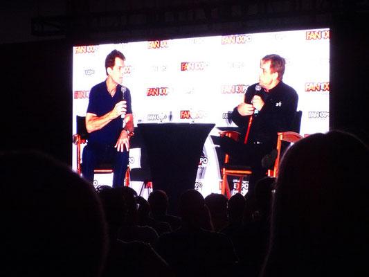 FanExpo 2016 in Toronto: Fragestunde mit Luke Skywalker-Darsteller Mark Hamill, der ein ebenso begnadeter wie gefragter Synchronsprecher ist.