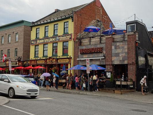 Urlaub in Ottawa: Grosser Andrang auf dem ByWard Market.