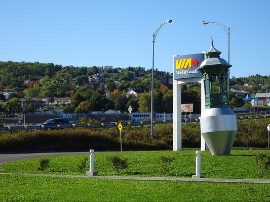 Urlaub in Quebec: Ankunft in Gaspé.
