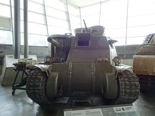 War Museum in Ottawa: Panzer in der Fahrzeugsammlung des Kriegsmuseums.