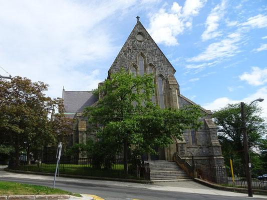 Urlaub in Neufundland: St. John's hat auch eine Kathedrale.