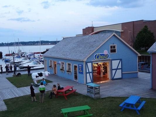 Ein gar nicht so geheimer Tipp: Dieser Laden am Hafen von Charlottetown verkauft die vermutlich beste Eiscreme auf Prince Edward Island.