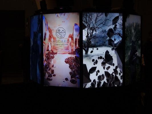 Interaktive Installation bei der Nuit Blanche 2015 in Toronto.