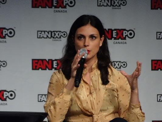 FanExpo 2016 in Toronto: Morena Baccarin wird immer wieder auf ihre Rolle als Inara in der Serie Firefly angesprochen. Aber sie hat auch darüber hinaus eine Menge Interessantes zu erzählen.