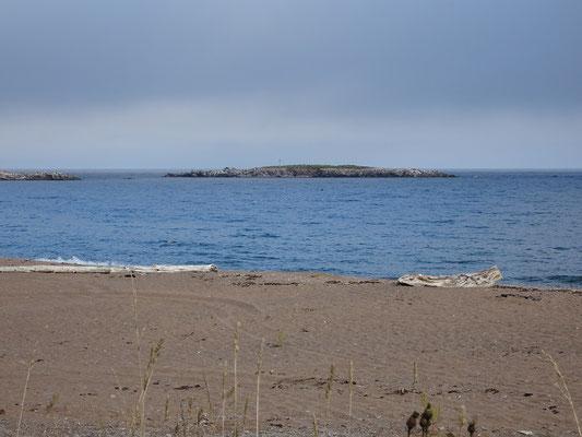 Urlaub in Quebec: Abstecher zum Strand an der Anse aux Ilots.