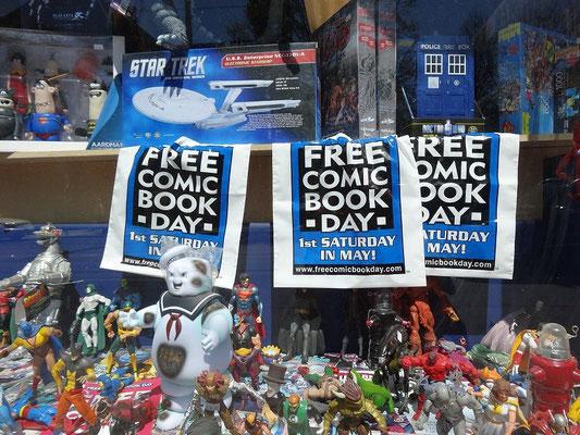 Free Comic Book Day in Toronto: Mehrere Händler nehmen teil.