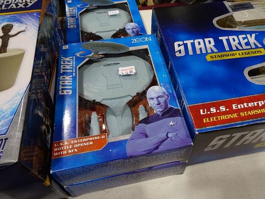 FanExpo 2016 in Toronto: Ein Flaschenöffner für hartgesottene Star Trek Fans.