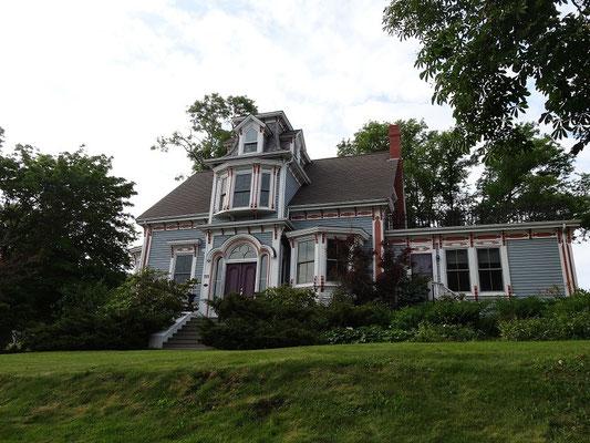 Schönes Haus in Lunenburg, Nova Scotia.
