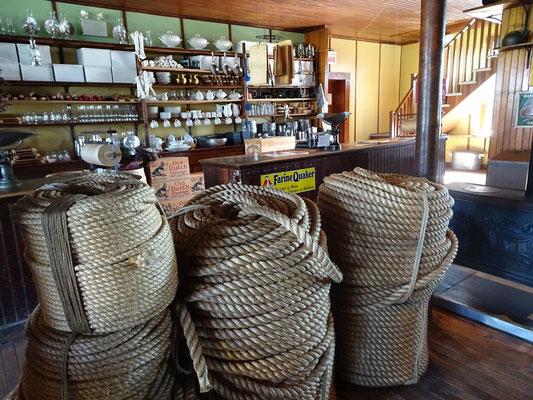 Urlaub in Quebec: Zeitreise im Forillon Nationalpark. Im Hyman-General-Store Museum erfährt man Wissenswertes über Fischerei und Leben in der Region.