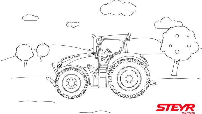 Ziemlich Einfache Traktor Malvorlagen Galerie - Ideen färben ...