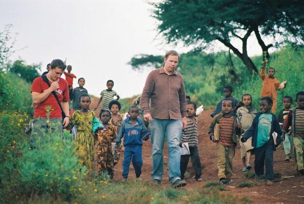 Pastor Thomas Haase hat uns während seiner Zeit in Gimbi und in Addis Abeba in den letzten Jahren unterstützt und sowohl unsere Partnerschaft als auch das Waisenhilfeprojekt enorm vorangebracht.